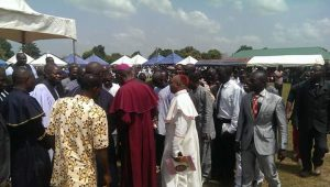 Religious leaders at the event